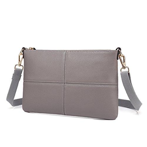 Cole Body Kenneth Cole Lotion Kenneth Black - Women Leather Crossbody Bag,Clutch Purse Shoulder Bag for Travelling Grey