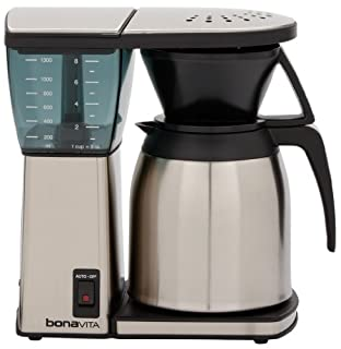 Bonavita BV1800TH 8-Cup Coffee Maker with Thermal Carafe (B005YQZNO8) | Amazon price tracker / tracking, Amazon price history charts, Amazon price watches, Amazon price drop alerts