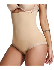 SURE YOU LIKE Damen Hohe Taille Shapewear Bauch Kontrolle Body Shape Figurformende Miederhose Unterwäsche