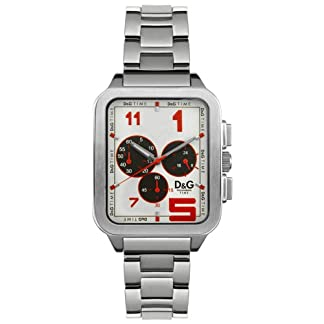 D & G Dolce & Gabbana Hombre Reloj de pulsera analógico cuarzo acero inoxidable dw0185
