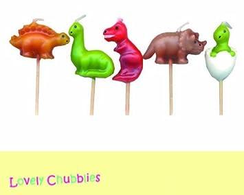 Velas de dinosaurios Mini Pick