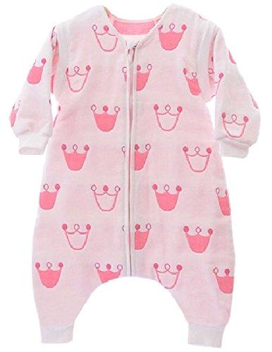 Saco de dormir para bebé con pie y fundas extraíbles 2.0 Tog rosa princesa rosa rosa Talla:12-18 meses: Amazon.es: Bebé