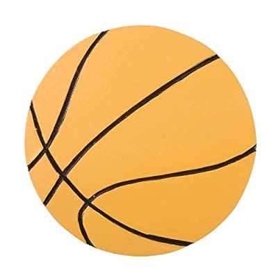 Darice 9199-43 Natural Painted Wood Cutout, Large Basketball: Arts, Crafts & Sewing