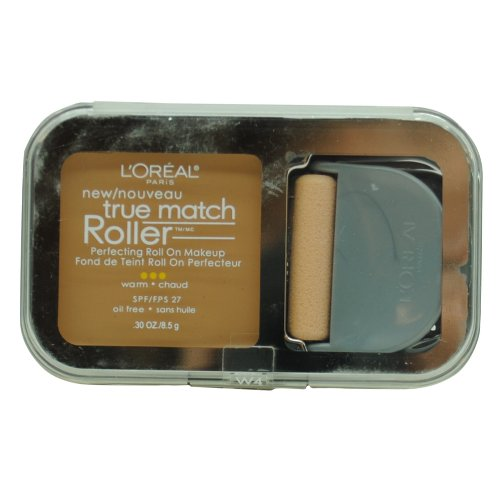 L'Oreal Paris True Match Roller, W4 Natural Beige, 0.30 Ounce