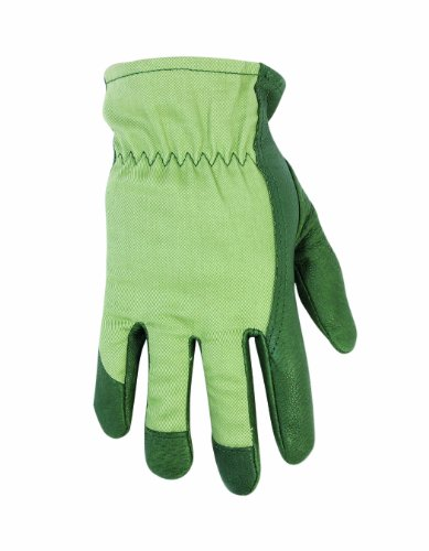 Custom Leathercraft 2255 Women's Top Grain Pigskin Leather Palm Gloves