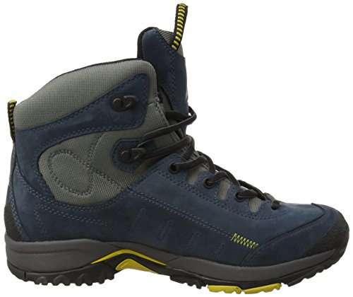 de unisex de Cross 1700 azul Tex cuero Dachstein Zapatos Blau senderismo Blau fq7wxOOpF