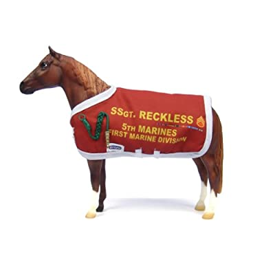 Breyer Traditional Series Sergeant Reckless | Model Horse Toy | 8.75