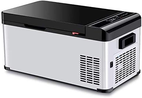 カー冷蔵庫カーホームデュアル使用の冷凍冷蔵庫コンプレッサーミニ冷蔵庫寮冷蔵、オフィス、寮やボート用20Lポータブルミニ冷蔵庫 (Size : 12/24/220V)
