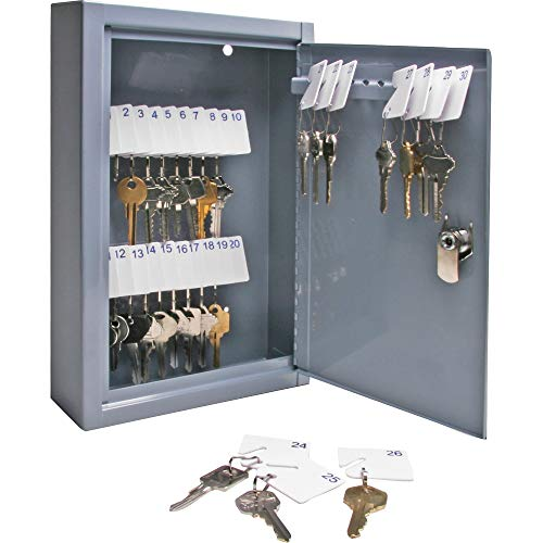 (Sparco All-Steel Slot-Style 30-Key Cabinet)