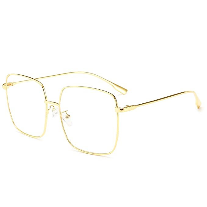 Feisedy Classic Women Fashion Oversized Polarized Uv400 Anti Glare Sunglasses 100% Garantie Kleidung & Accessoires