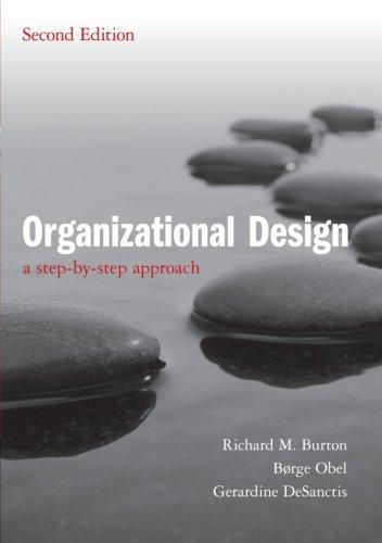 Organizational Design: A Step-by-Step Approach