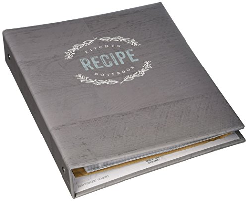 (C.R. Gibson QP12-18687 Recipe Binder and Cards, Farmhouse)