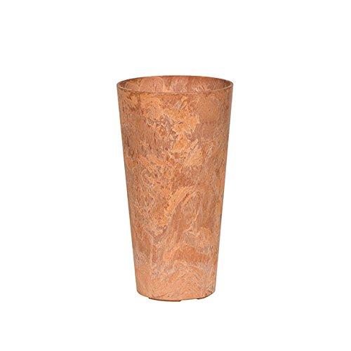 Artstone Napa Tall Planter, Terracotta, (Tall Round Planter)