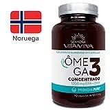 Ômega 3 da Noruega certificado PRONOVA PURE (90 cápsulas concentradas)