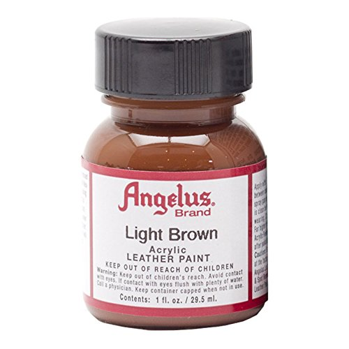 Angelus Leather Paint Light Brown product image