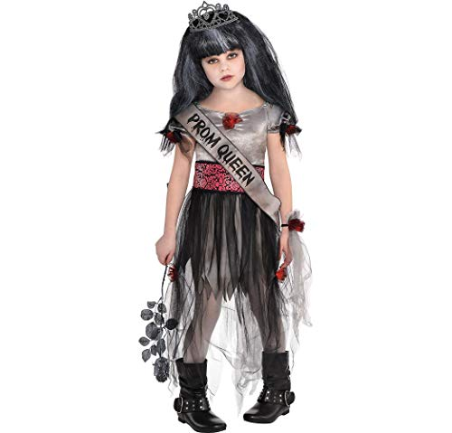 AMSCAN Prom Corpse Halloween Costume for Girls, Small, with Included -
