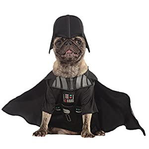 Rubie's Star Wars Collection Pet Costume, Small, Darth Vader