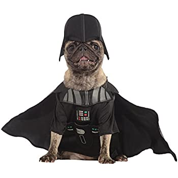 this item rubies costume star wars collection pet costume x large darth vader - Halloween Darth Vader