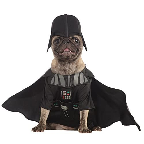 Rubies Costume Star Wars Collection Pet Costume, Medium, Darth Vader
