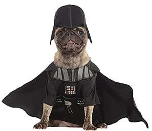 Star Wars - Disfraz Darth Vader para mascota, L (Rubie's Spain 887852-L)