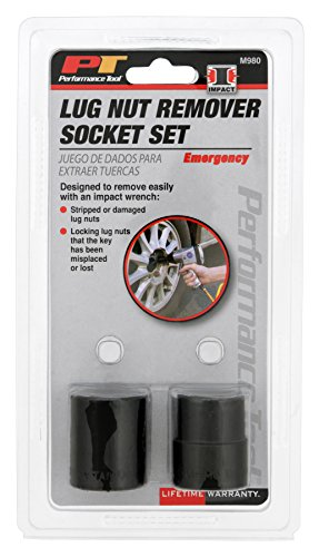 Performance Tool M980 Emergency Lug Nut Removal Set