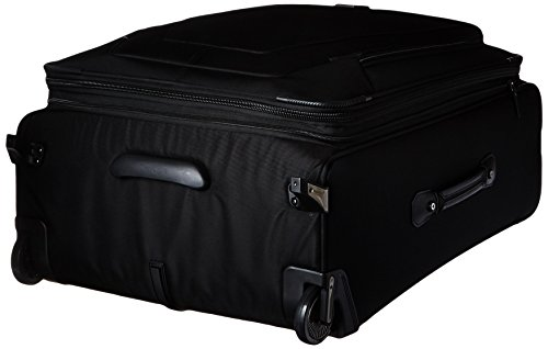 Travelpro Crew 11 Expandable Rollaboard Wheeled Suiter Suitcase, Black by Travelpro (Image #3)
