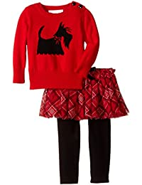 Baby-Girls Intarsia Sweater and Skegging