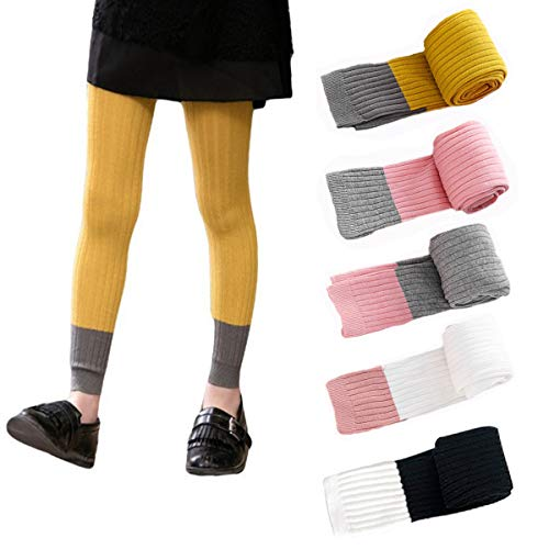 Girls Cable Leggings Footless Stockings product image