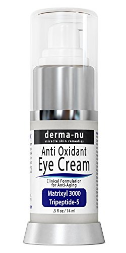 Anti Aging Eye Cream - Best Eye Treatment for Under Eye Wrinkles, Dark Circles, Crows Feet & Puffy Eyes. Effectively Nourishes Skin with Coq10, Matrixyl 3000, Amino Acids, Peptides & Vitamin C - .5oz