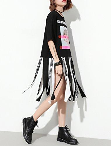 ELLAZHU - Camiseta - para mujer negro