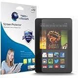 "Kindle Fire HDX Screen Protector, Tech Armor Anti-Glare/Anti-Fingerprint Amazon Kindle Fire HDX 7"" (2013) Screen Protectors [3-Pack]"