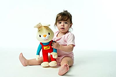 BUNNY OF THE YEAR - Baby First TV: Harry the Bunny Soft Plush Toy - Stuffed Animals for the Perfect Baby Shower Gift. Baby First Year Plush Toys. Infant Toddler Baby Toys - BabyFirst by BabyFirst that we recomend individually.