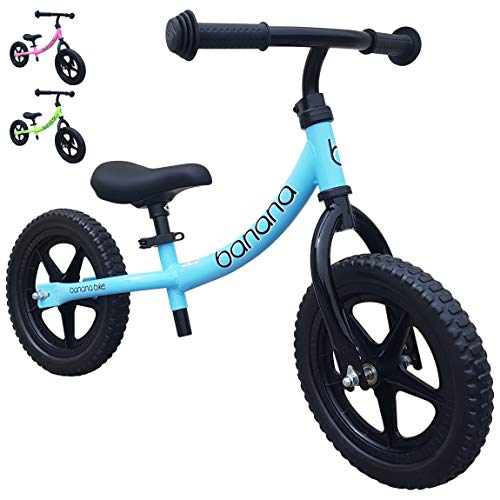 Banana Bike Balance Bike for Kids - 2, 3 & 4 Year Olds - Lightweight LT (Blue)]()