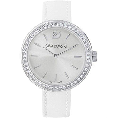 Swarovski Reloj analogico para Mujer de Cuarzo con Correa en Piel 5095603: Amazon.es: Relojes