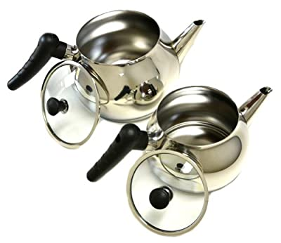 Stainless Steel Turkish Tea Pot Set