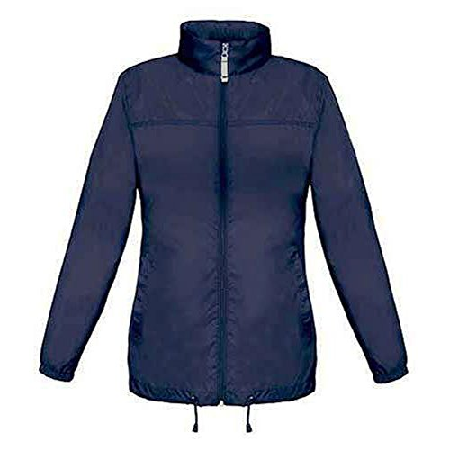 B&C - Ladies Windbreaker 'Sirocco Woman', S, Atollblue