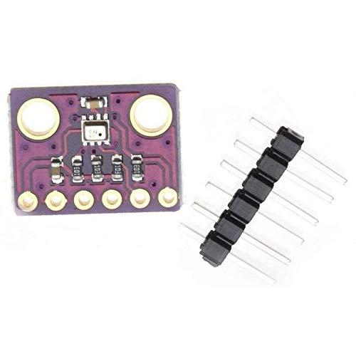 Pudincoco BME280 Digital Sensor Temperature Humidity Barometric Pressure Sensor Module I2C SPI 1.8-5V GY-BME280 Color:Black