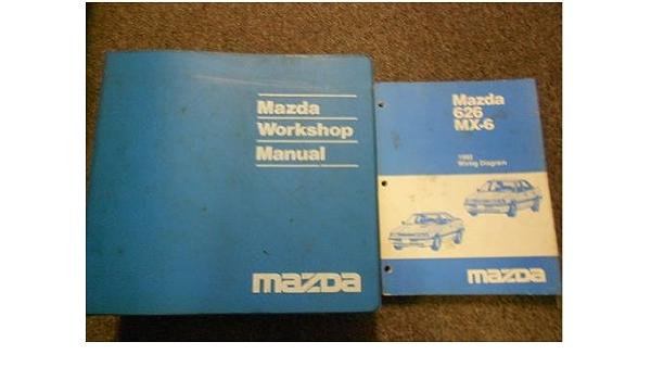 1992 Mazda 626 Mx 6 Mx6 Service Repair Shop Manual Set Factory Oem Book 92 Mazda 1992 Mazda 626 Mx 6 Service Manual 1992 626 Mx 6 Wiring Diagram Manual Mazda Amazon Com Books