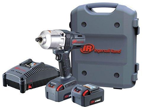 Ingersoll Rand W7150-K22 1 2 20V High-Torque Impact Tool Kit