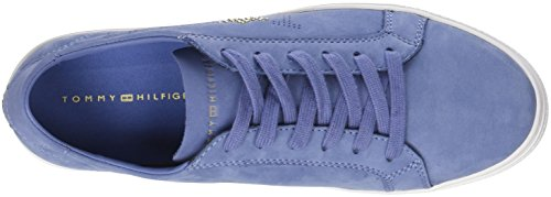 Tommy Tommy Sneakers English Basses Nubuck Star Hilfiger Sneaker Bleu Manor 415 Femme OOwrpZSq