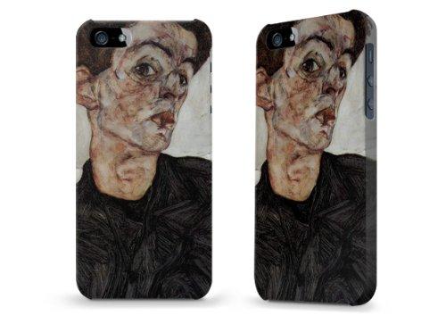 """Hülle / Case / Cover für iPhone 5 und 5s - """"Selbstportrait"""" von Egon Schiele"""