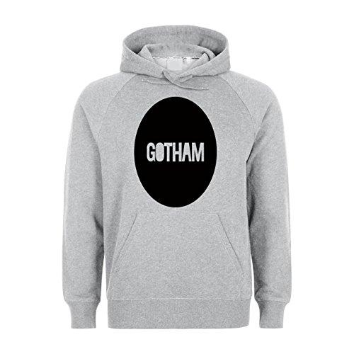 Gotham Round Logo Unisex Hoodie
