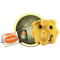 "Giant Microbes Hepatitis Plush, 5-7"""