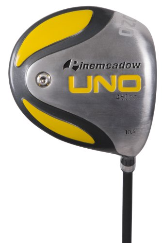 Pinemeadow Golf Uno 10 degrees Standard Men's Driver (Left Hand, Graphite, R - (Left Hand Ti Driver)
