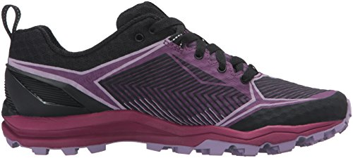 Merrell Dames All-out Crush Shield Trail Runner Zwart / Paars