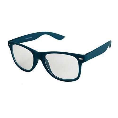 elegir de estera goma Retro Gafas a Modelos Bisagra Alta calidad 101 Nerd Verde varios Unisex Sol De Transparente de De Vintage muelle oscuro Gafas con colores Azul YqBwqx8CZ