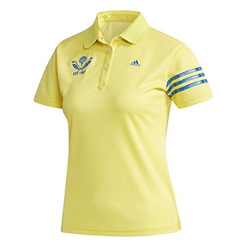 アディダス Adidas 半袖シャツ?ポロシャツ リネンライク 半袖ポロシャツ レディス