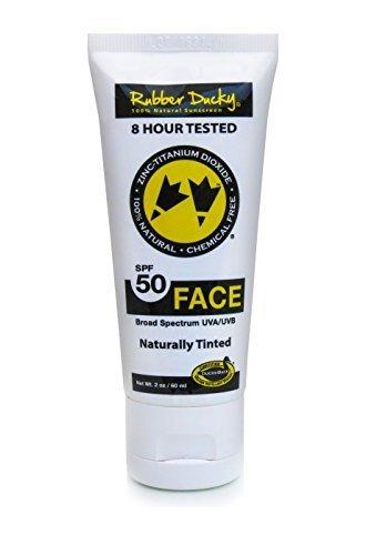 All natural facial sunscreen