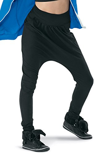 Hip Hop Dance Costumes For Competition Men - Balera Urban Groove Skinny Harem Dance Pants Black Adult