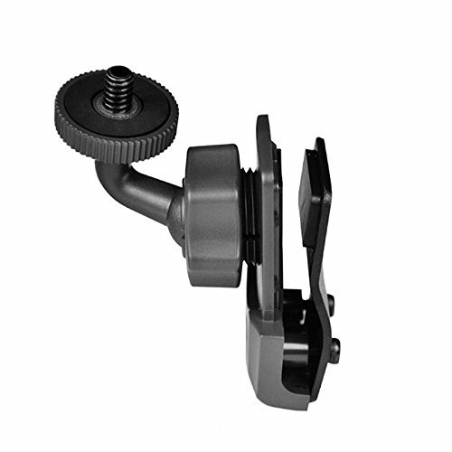 360 Degree Swivel Helmet Side Mount Clip Holder for Gopro, SJCAM, SJ4000, Sony Action Cam and AEE Sports POV Cameras